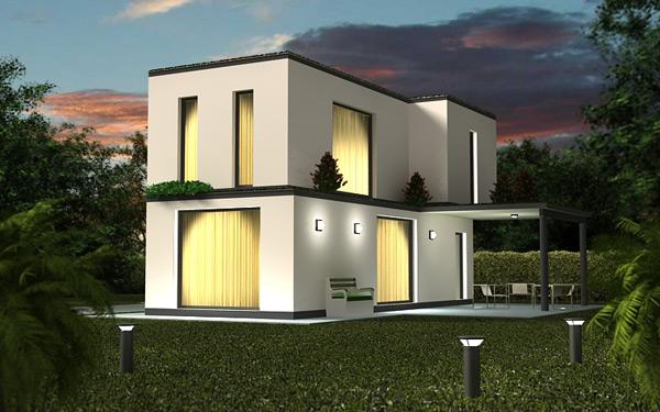 Casas prefabricadas modelo barcelona tecnohome - Casas prefabricadas barcelona ...