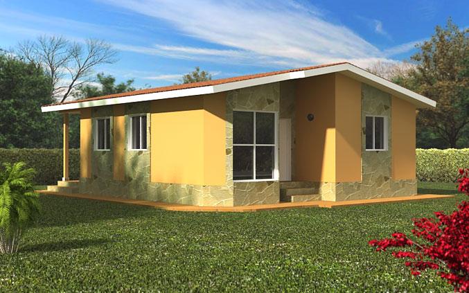 Casas prefabricadas modelo castro garaje tecnohome - Casas prefabricadas en zaragoza ...