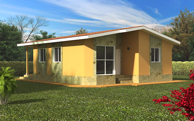 Casa Prefabricada Castro Garaje