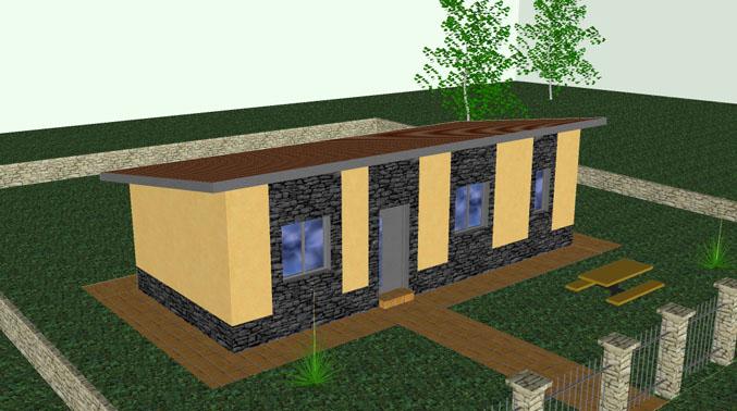 Casa Prefabricada Laredo