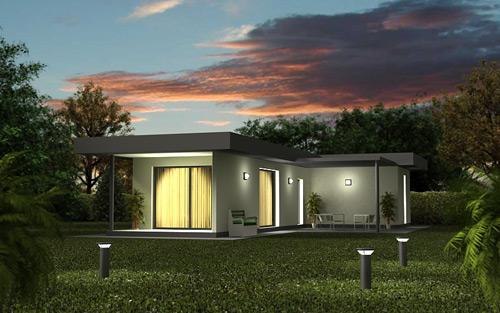 Casas prefabricadas tecnohome for Casas prefabricadas minimalistas