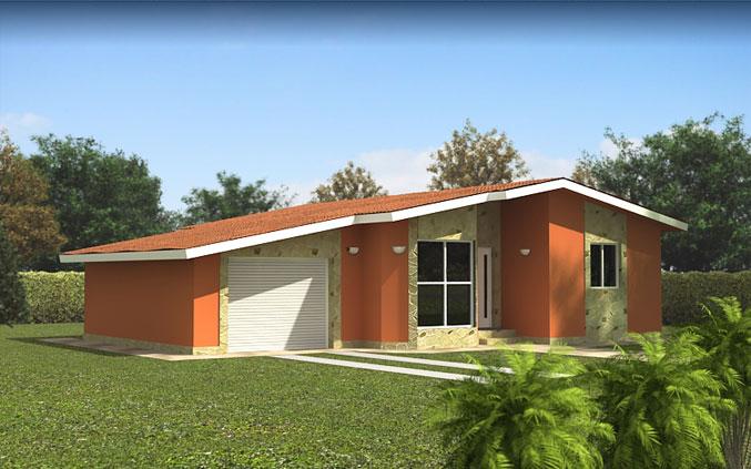 Casas prefabricadas modelo marbella tecnohome - Casas prefabricadas en zaragoza ...