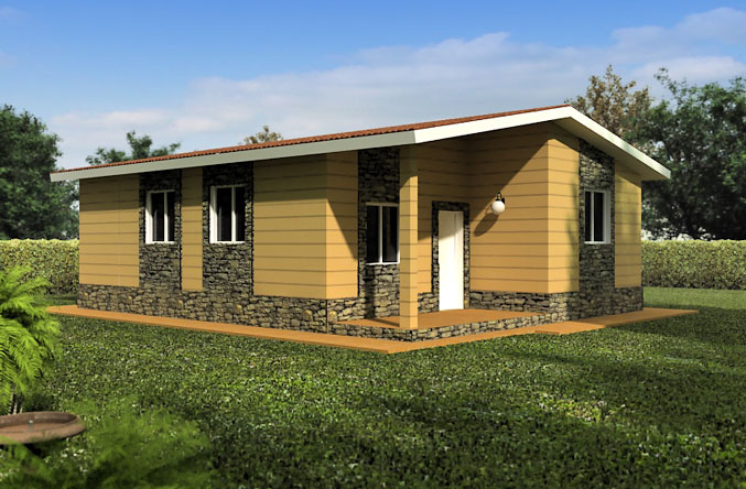 Casa prefabricada modelo navarra tecnohome tecnohome - Modelo casa prefabricada ...