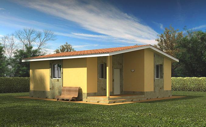 Casas prefabricadas modelo noja tecnohome - Casas prefabricadas madrid ...