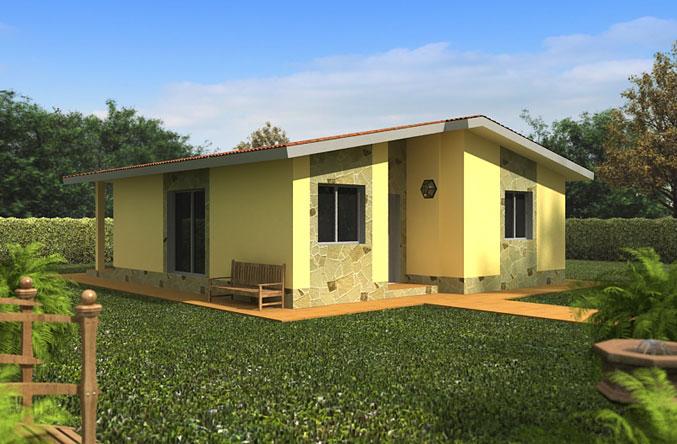 Casa Prefabricada San Sebastian