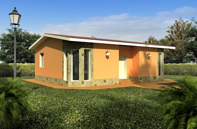 Casas Prefabricadas Modelo Santander Tecnohome