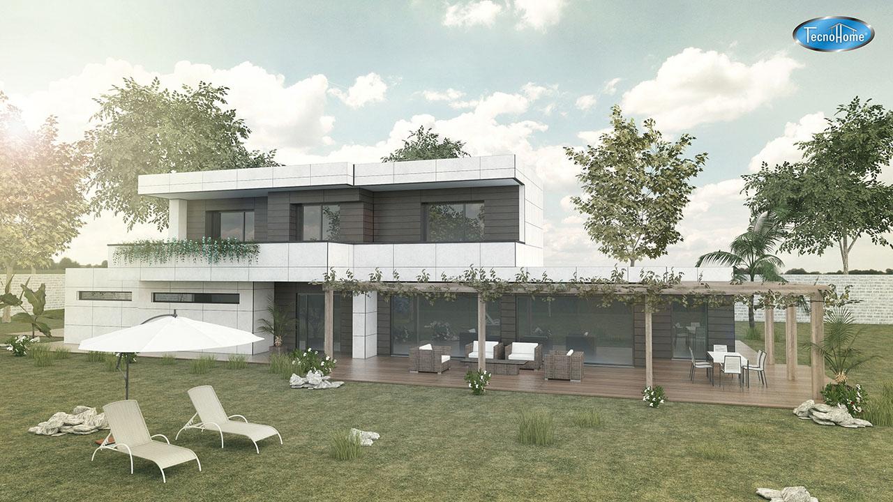Construccion casas prefabricadas casas tecno home - Casas prefabricadas en zaragoza ...