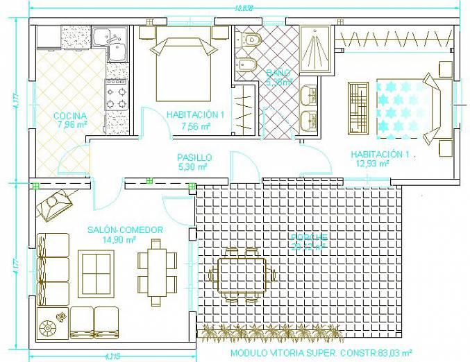 Casas prefabricadas en segovia casas tecno home - Construccion de casas modulares ...