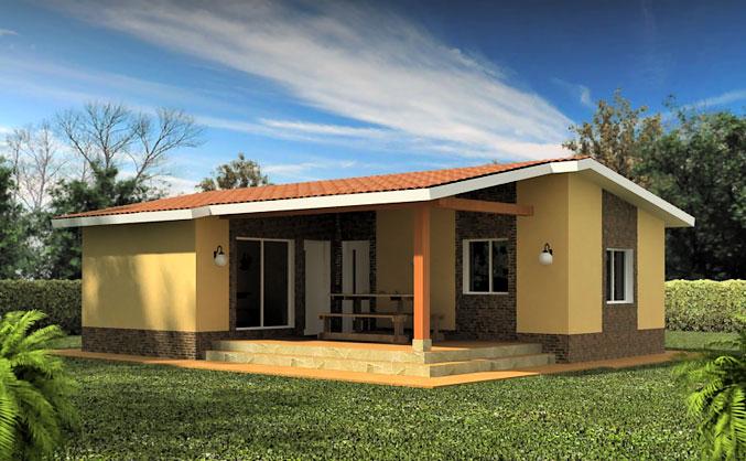 Casas prefabricadas en segovia casas tecno home for Fachadas de viviendas de una planta