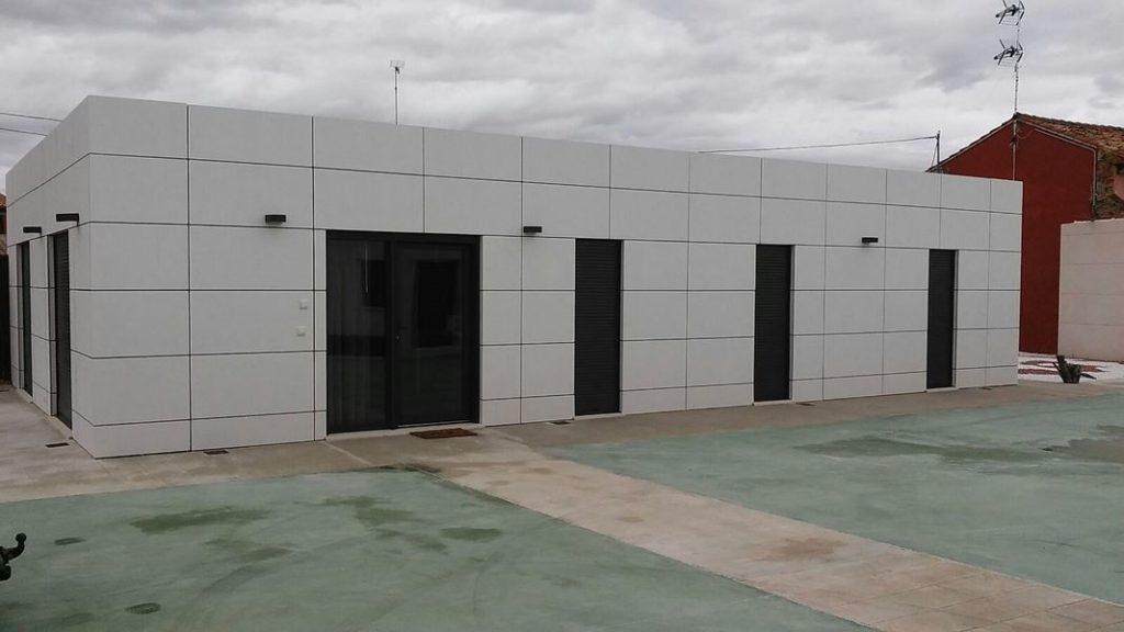 Construcción casas modernas