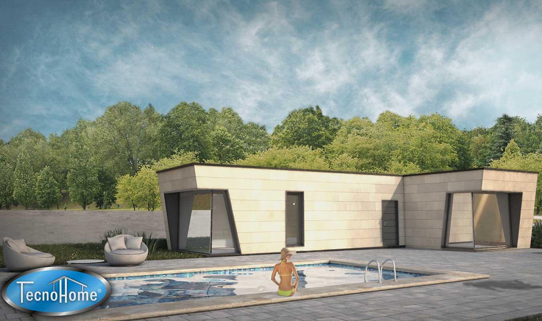 Casas prefabricadas modelo zaragoza tecnohome - Casas prefabricadas en zaragoza ...