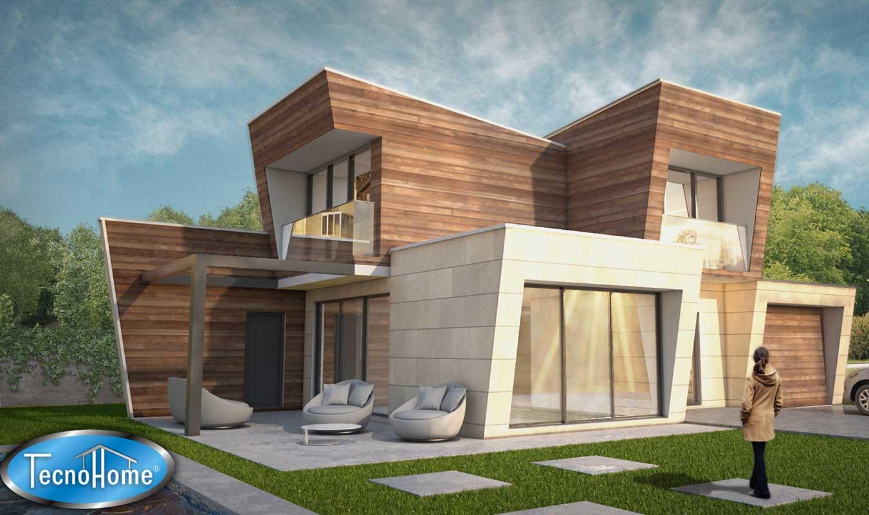 Viviendas prefabricadas modernas ideas de disenos for Casas prefabricadas modernas