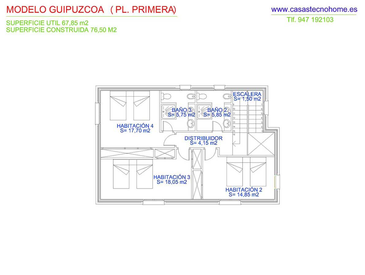 plano construccion de casas prefabricadas en guipuzcoa