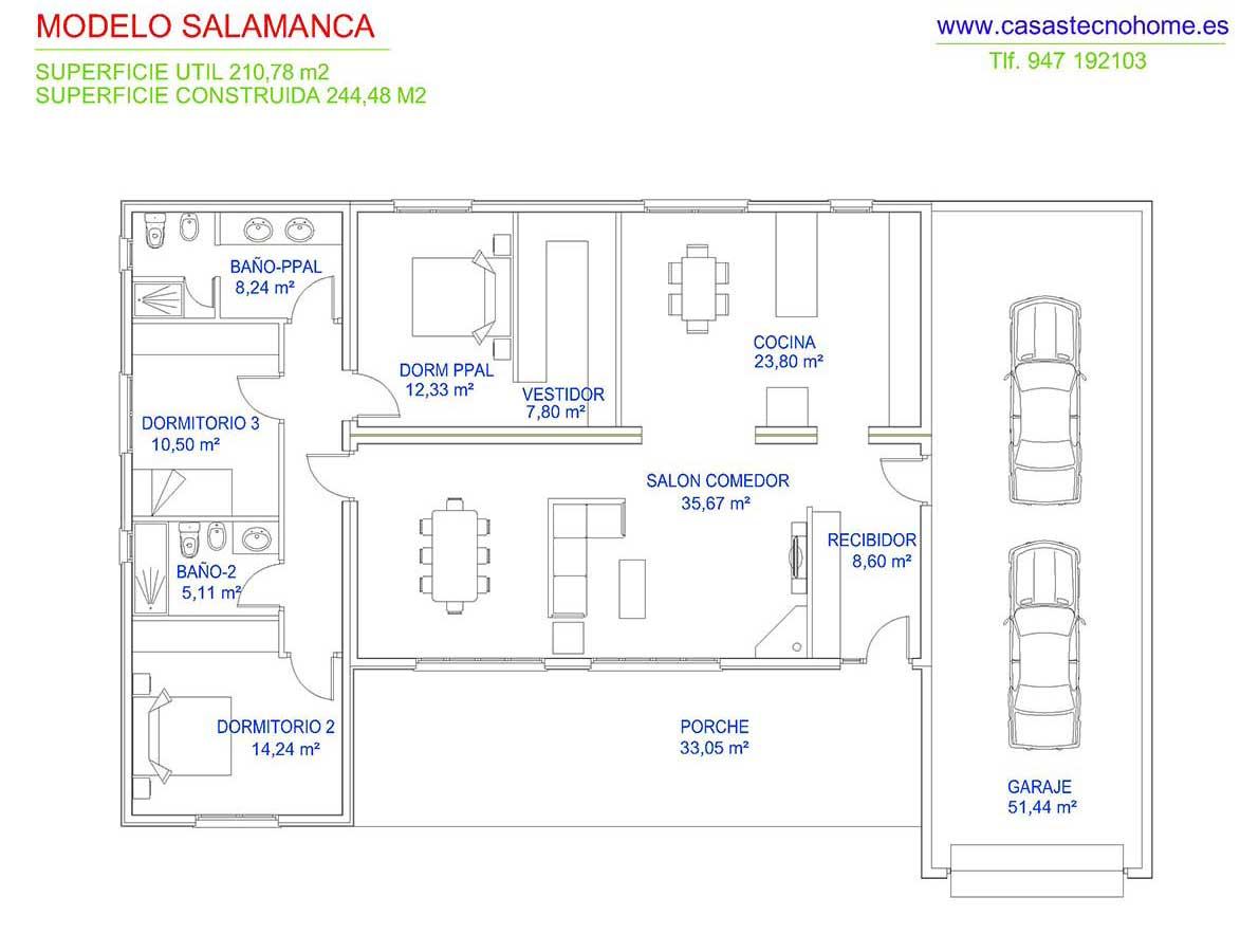Casas prefabricadas en salamanca casas tecno home - Casas prefabricadas en valladolid ...