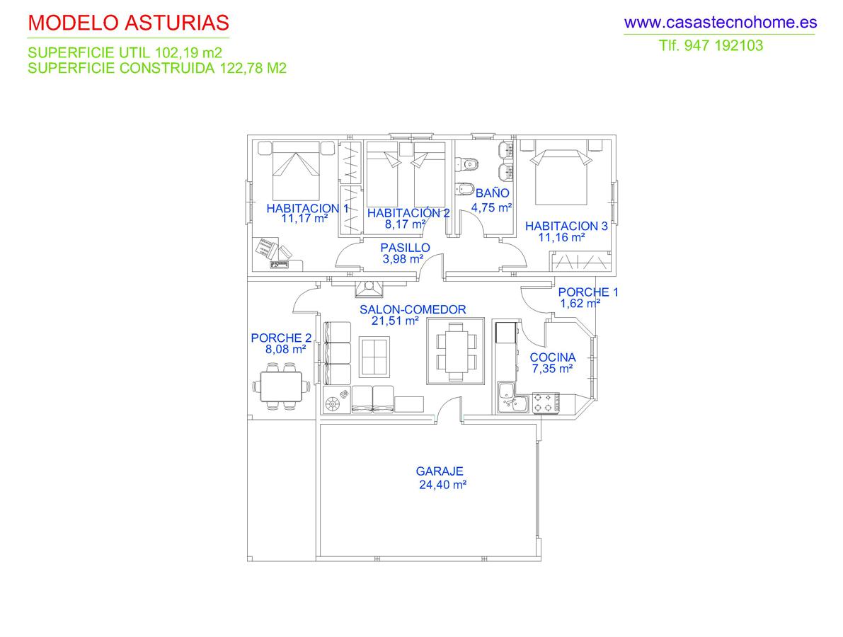 Casas prefabricadas en asturias casas tecno home for Casas prefabricadas asturias