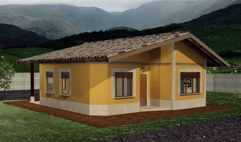 Casas prefabricadas de madera en Asturias